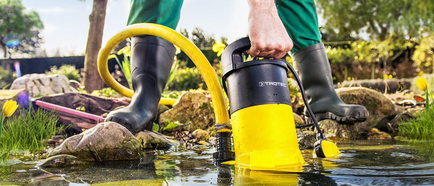 Потопяеми помпи за отпадъчни води Тротек