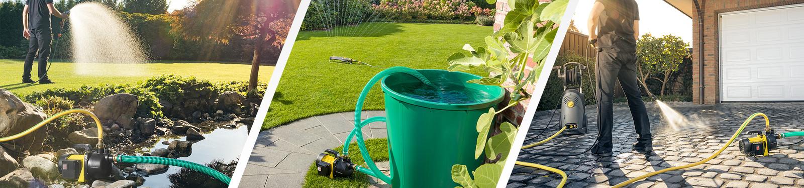 Градински помпи за вода